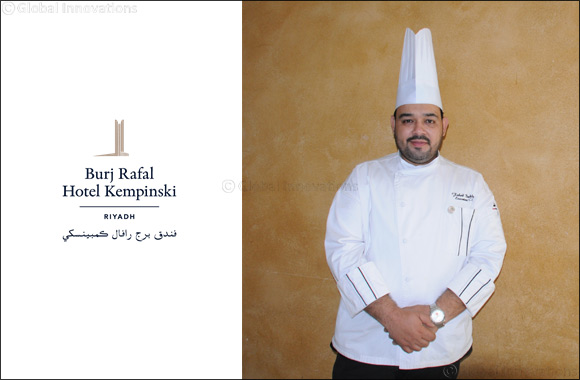 New Executive Chef: Fahad Bukhari Joins  Burj Rafal Hotel Kempinski