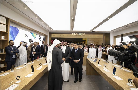 Huawei opens its First Flagship Store in Saudi Arabia