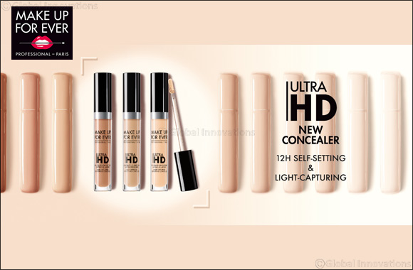 Get closer- your makeup is invisible with Make Up For Ever's New Ultra HD Concealer