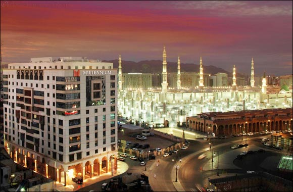 Millennium Taiba and Al Aqeeq win Medina's Leading Hotel Award 2019