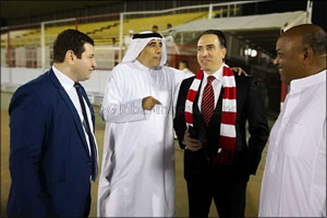 M Hotel Makkah by Millennium sponsors the opening of a fitness centre at Al Wahda FC