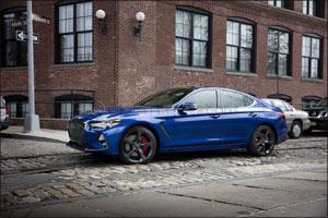 Genesis G70 Wins Best Luxury Sedan Award