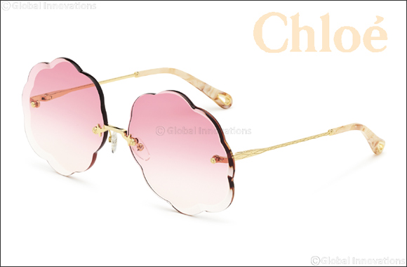 "Chloé Launches The New Cloud-shaped ""rosie"" Sunglasses"