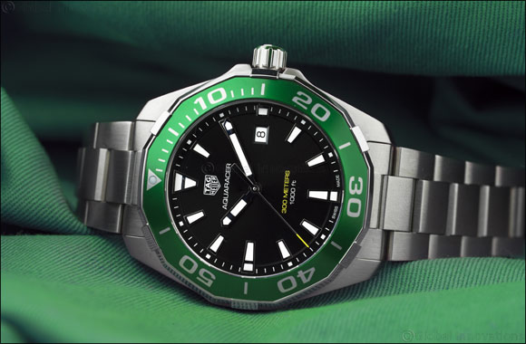 Tag Heuer Launches Limited Edition Green Aquaracer in the Kingdom of Saudi Arabia (KSA)