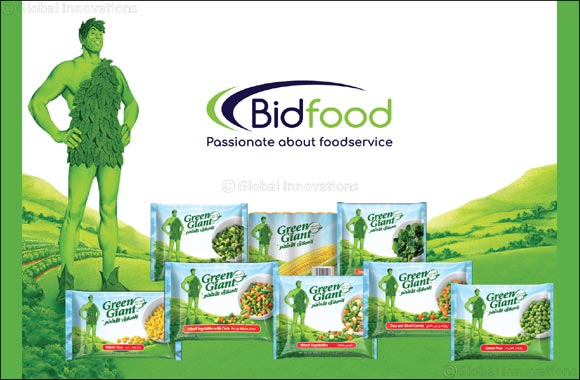 Bidfood KSA announcing another exclusive foodservice distributorship with General Mills to supply Häagen-Dazs Ice Cream and Green Giant Frozen Vegetables