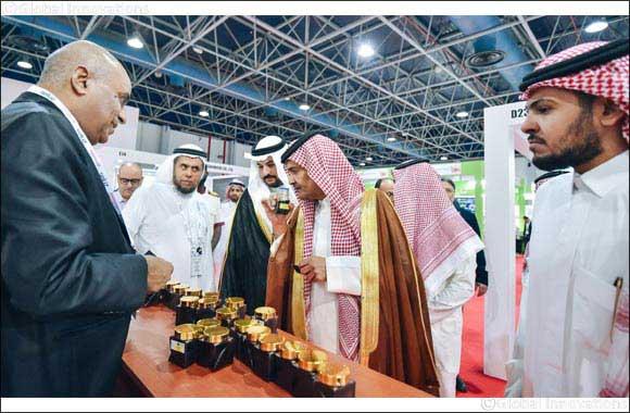 Khalaf Hosan Al-Otaibi opens Beautyworld Saudi Arabia 2019
