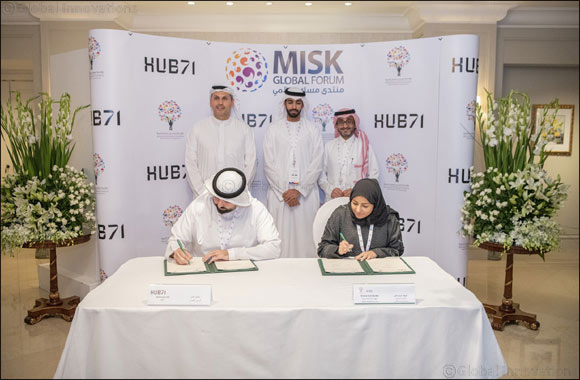 Saudi Arabia's Flagship Misk Foundation signs MoU with Hub71 for Cross-Market Access into the UAE and KSA