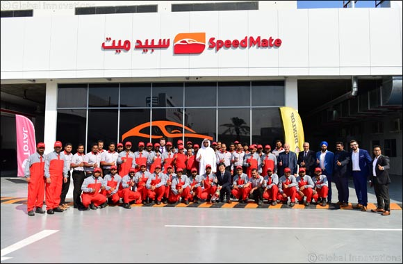 'SpeedMate' from Al Babtain launches First Service Centre in Kuwait