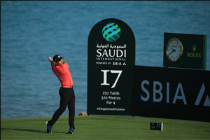 Spanish golf star Sergio Garcia determined to make a positive impression at next week's Saudi International return