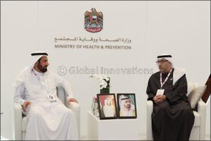 Minister of Health meets Saudi and Kuwaiti Ministers of Health
