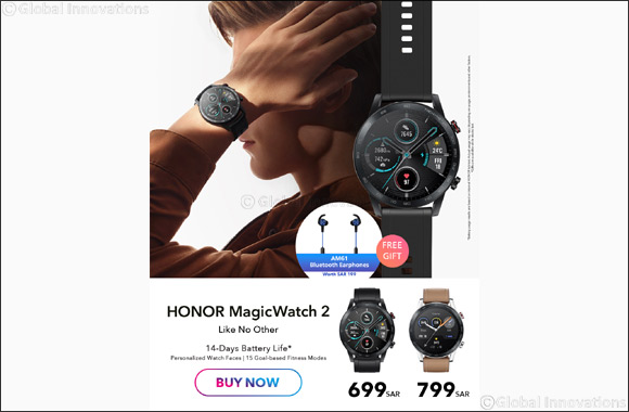 HONOR Launches Stylish Fitness Smartwatch HONOR MagicWatch 2 in the Kingdom of Saudi Arabia