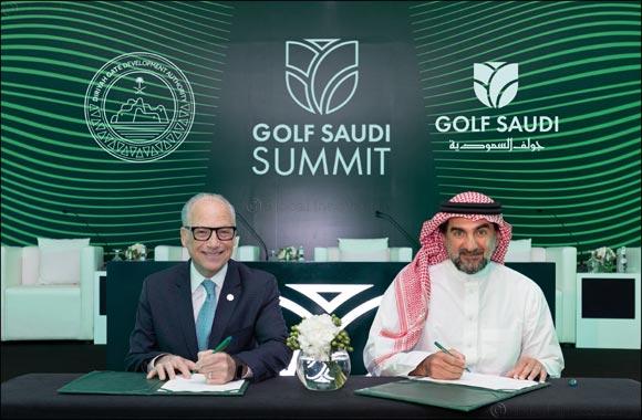 Diriyah Gate Development Authority & Golf Saudi Sign Memorandum of Understanding (MoU) Cementing Future Collaboration.