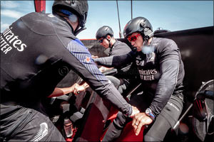 Omega Announces Its Role as the  Official Timekeeper of the 36th America's Cup