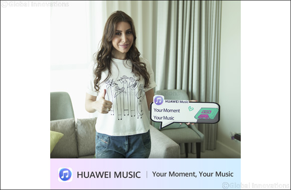 Huawei Users Across Saudi Arabia Can Watch an Exclusive Interview With Pop Star YARA to Win Prizes Autographed by the Star