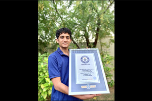 17-Year Old Smashed a Guinness World Records Title in His Bedroom