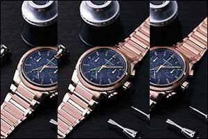 Parmigiani Fleurier's New Tondagraph GT Rose Gold Blue