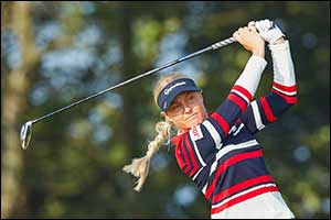English Golf Star Charley Hull Joins Major Winner Georgia Hall in Confirming Her Place for Next Mont ...