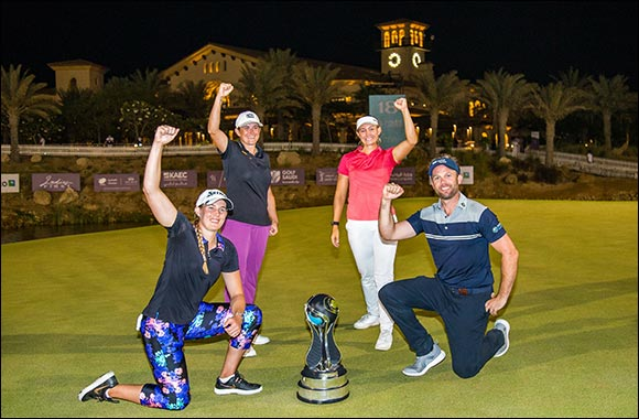 Emily Kristine Pedersen completes miracle 'Saudi Slam'! Unstoppable Dane wins both categories of the Saudi Ladies Team International just days after $150,000 SLI triumph