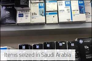 HP Seizes Thousands of Counterfeit Products  in Saudi Arabia