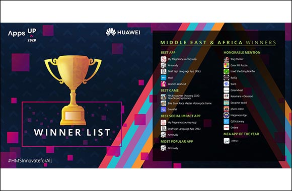 The Winners of the Huawei HMS App Innovation Contest, Appsup Have Been Announced'