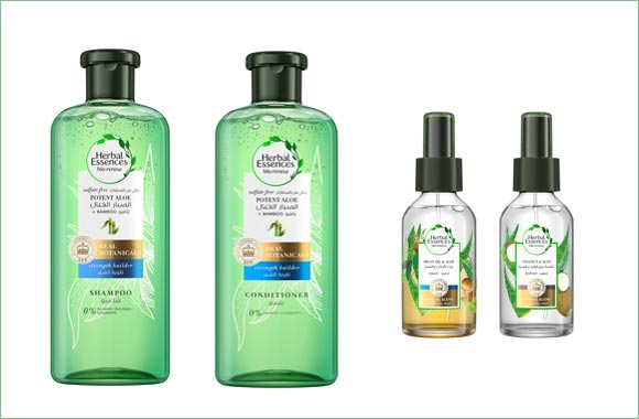Herbal Essences Taps into Nature's most Powerful Ingredients with the new Potent Aloe Vera Haircare Range