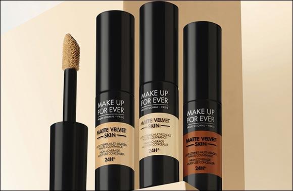 MAKE UP FOR EVER Presents the Brand-new Matte Velvet Skin Concealer