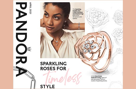 Sparkling Roses for Style