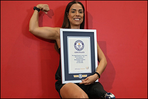 Lebanese Amputee Athlete Breaks the Guinness World Records� Title to Mark the Launch of GWR's Impair ...