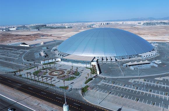 Losberger De Boer Delivers Record-breaking Jeddah Superdome Event Venue