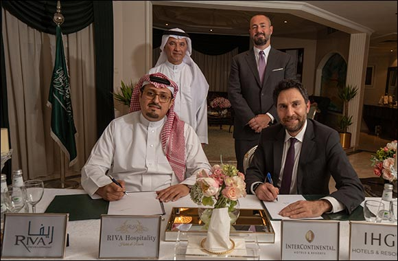 IHG® Signs InterContinental Riyadh King Fahed Road - Second Hotel to be Developed under MDA with RIVA Development Company