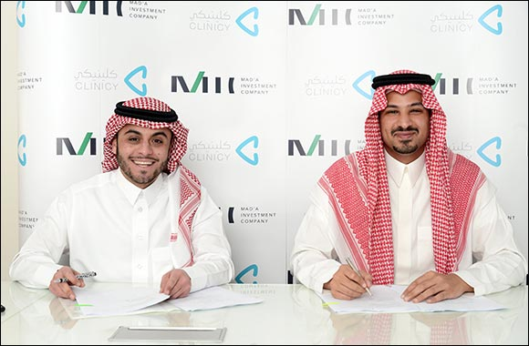 Saudi HealthTech Platform Clinicy Closes Seven-Figure Investment Round By Mad'a Investment Company