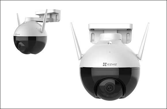 With the new EZVIZ C8C outdoor pan/tilt Wi-Fi camera's advanced technology