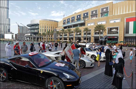Supercar Taxi returns to Dubai to offer customers one final weekend of free luxury car rides
