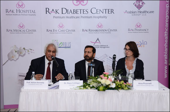"Comprehensive Diabetic Care ""RAK Diabetes Centers"" across UAE by 2020"