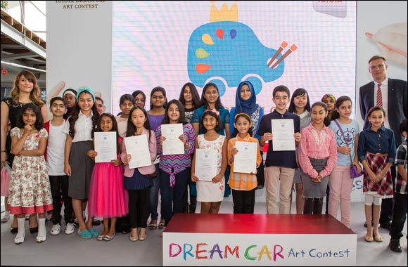 Al-Futtaim Motors announces winners of inaugural Toyota Dream Car Art Contest in the UAE