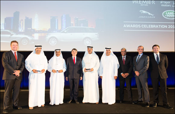 Jaguar and Land Rover 2014-15 Sales Growth drives UAE's Al Tayer Motors to the Top of the World