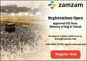 Zamzam.com OTA approved by Ministry of Hajj and Umrah Saudi Arabia