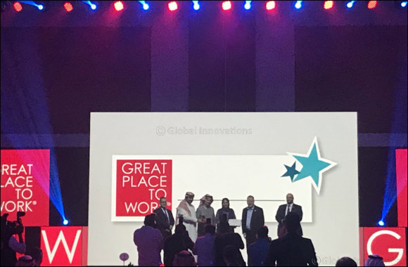 MEPCO Wins 'Great Place to Work 2017' Accolade in KSA